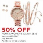 Mens & Womens Watchs Sets Deals