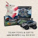 Team Toys & Gifts Deals