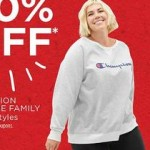 Womens Plus Champion Sweatshirt Deals