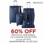 60% off Protocol Centennial 3.0 Spinner Luggage Collection Deals