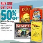 Buy 1, Get 1 50% Off Adult & Strategy Games Deals