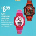 Deals on Kids Character Watches