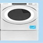 lowes deals on Amana 7.4-cu. ft. Stackable Gas Dryer (NGD5800HW)
