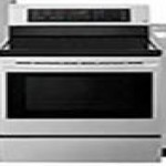 lowes deals on LG EasyClean Smooth Surface 5-Element 6.3-cu. ft. Electric Range