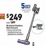 lowes deals on Dyson V8 Animal Cordless Stick Vacuum