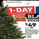 lowes deals on Holiday Living 6.5-ft. Pre-Lit Artificial Seneca Tree