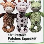 Pattern Patches 18-in. Squeaker Deals