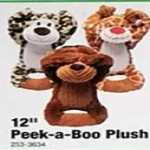 Deals on Peek-a-Boo 12-in. Plush