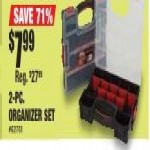 northerntool deals on Ironton 2-Pc. Organizer Set