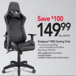 officedepot deals on Realspace DRG Gaming Chair