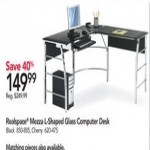officedepot deals on Realspace Mezza L-Shaped Desk