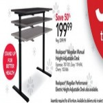 officedepot deals on Realspace Magellan 60-in. Height-Adjustable Desk