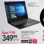 officedepot deals on Lenovo IdeaPad S145 15.6-inch Laptop w/AMD Ryzen 5, 8GB RAM