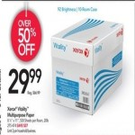 officedepot deals on Xerox Vitality Multi-Use Printer Paper 500 Sheets