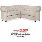 overstock deals on Inspire Q 7-Seat L-shaped Sectional