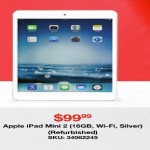 overstock deals on Apple iPad 16GB Mini Refurb