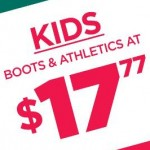rackroomshoes deals on Kids Boots & Athletics