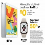 sprint deals on Apple iPad 7 for $0 + Add Unlimited Data for $25/mo