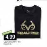 stagestores deals on Mens RealTree TEE