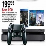 target deals on PlayStation 4 1TB + 3 Free Games