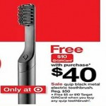 Quip Metal Electric Toothbrush + Free $10 Gift Card Deals