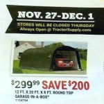 Deals on ShelterLogic Landowner Series Garage-in-a-Box RoundTop