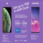 walmart deals on Upto $700 in Gift Card w/Apple or Samsung Phone Activation & Trade-in