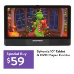 Deals on Sylvania 10-inch Tablet & DVD Player Combo
