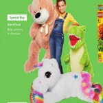 Giant Plush Bear, Unicorn Or Dinosaur Deals